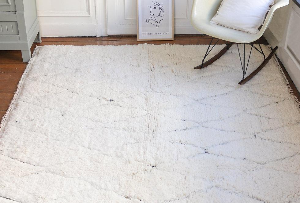 ANABA- Berber rug Beni Ouarain 230x230cm