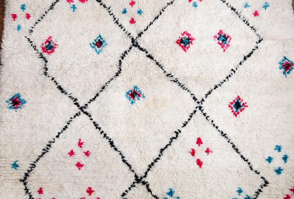 Tapis berbere coloré en laine