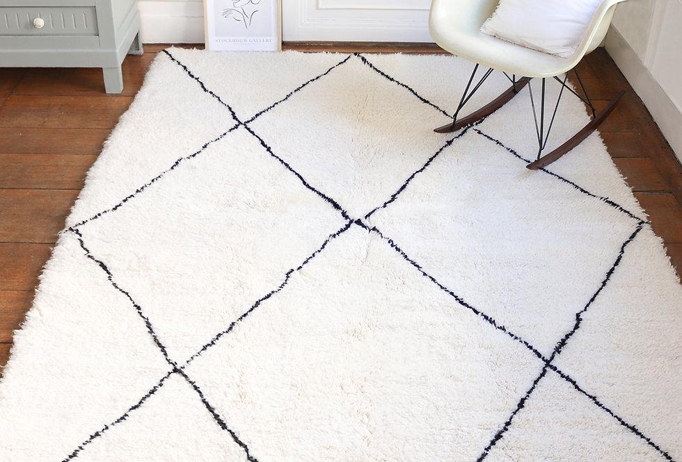 DOHA - Berber rug Beni Ouarain 150x250cm