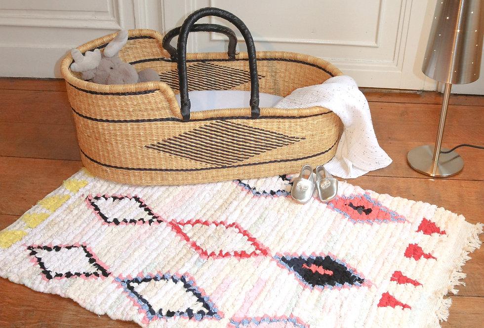 ATAS - Boucherouite Berber rug 65x100cm