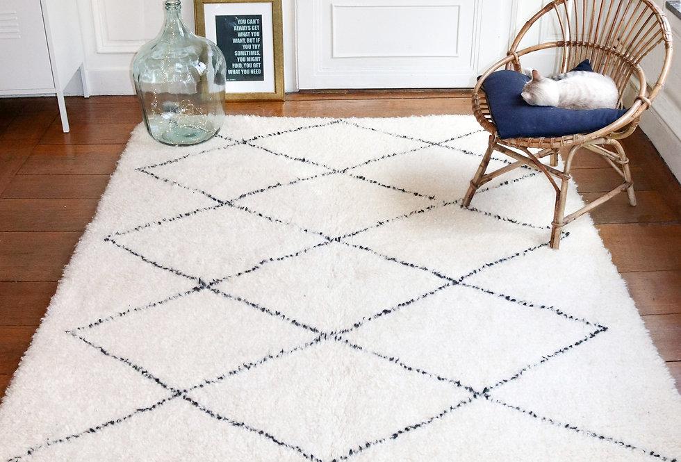 DAMA - Beni Ouarain Berber rug 150x250cm