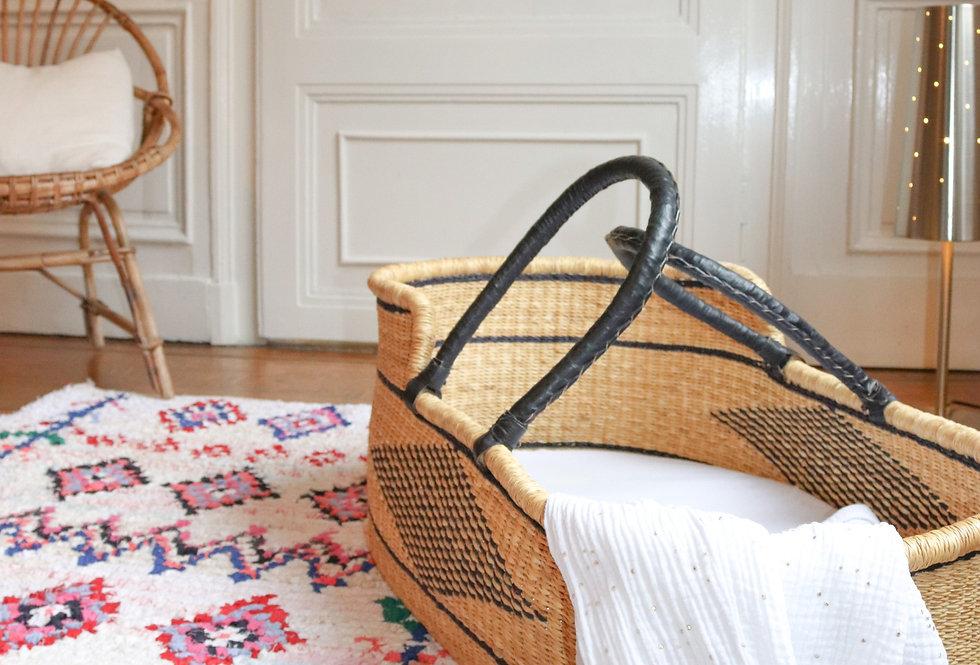 ASSA - Boucherouite Berber rug 100x140cm