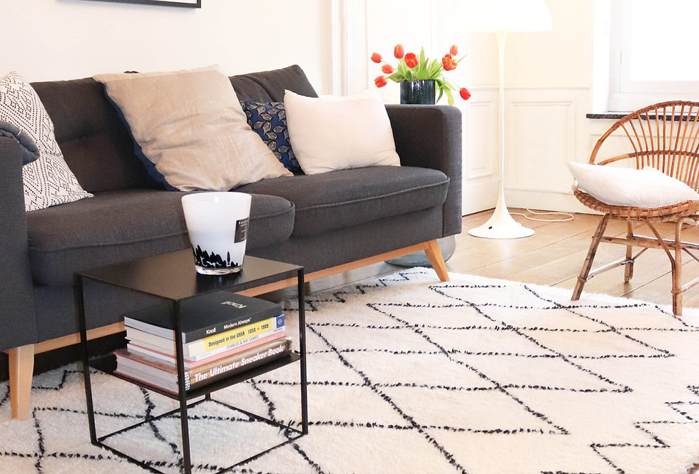 ALES - Beni Ouarain Berber rug 150x220cm