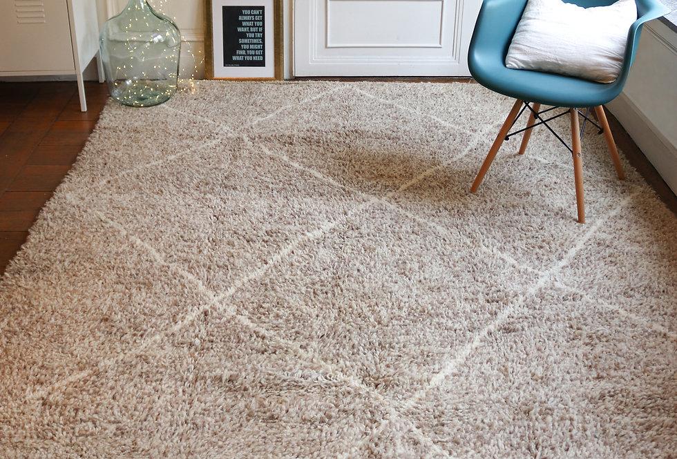 Beni Ouarain Berber rug 3x2m