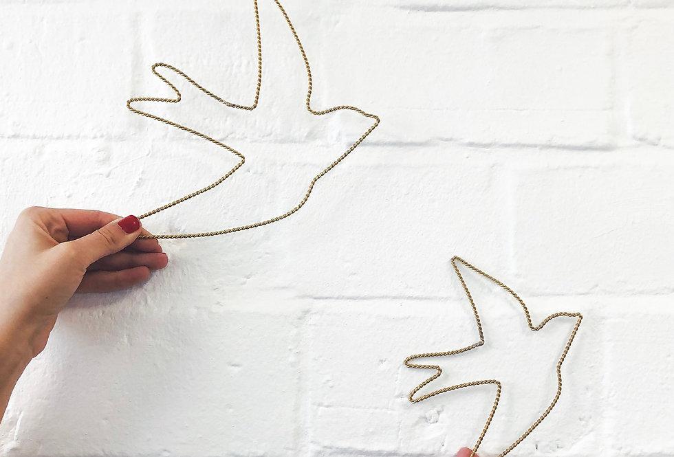 Décoration murale oiseau