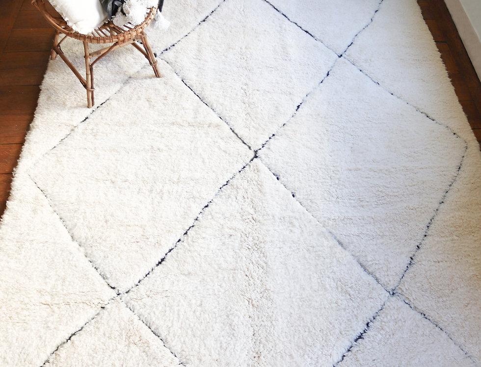 TARA - Beni Ourain Berber rug 2x3m
