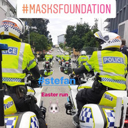 Masks Foundation Easter run