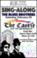 BIFF Ad Blues Brothers Sing Along- Poste