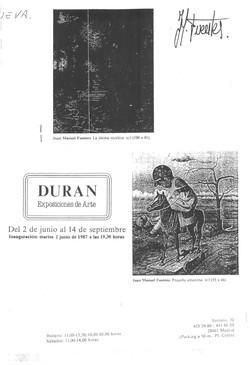 Expo. galeria Duran-Madrid