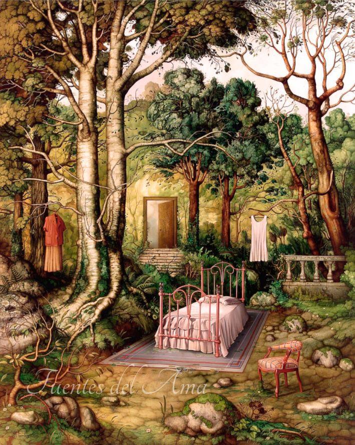 Bosque amueblado