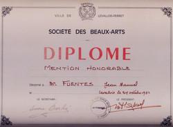 Diploma Levallois Perret-Paris