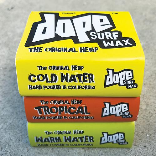 Dope Surf Wax (3 Pak)