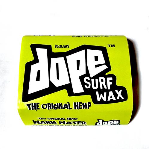Dope Surf Wax (Warm Water)