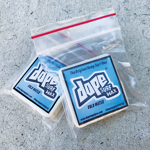 Dope Surf Wax Cold Water 2 Pack (Mini Nugs)