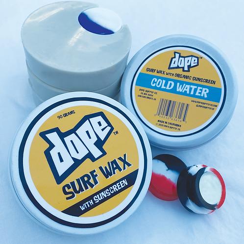 DOPE SURF WAX w/ SUNSCREEN