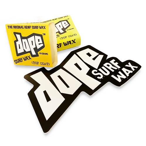 Dope Surf Wax (Cold Water) Mini Nug 2 Pack)
