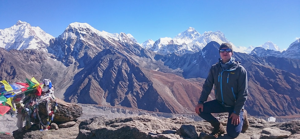 Everest View from Gokyo Peak