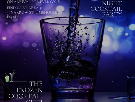 The Frozen Cocktail Club ┃Narrow Street Cocktail Club