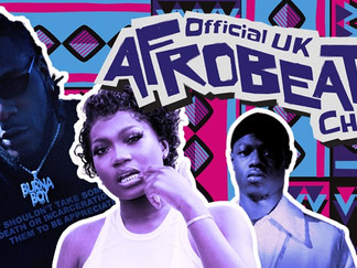 AFROBEATS CHART TO LAUNCH THIS WEEK!