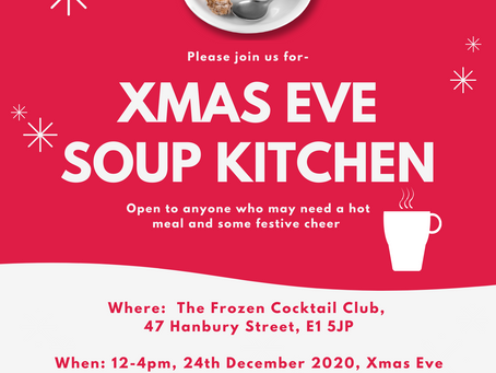 The Frozen Cocktail Club │Christmas Eve Soup Kitchen