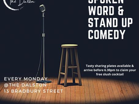Speak UP! Spoken Word, Poetry & Comedy @ The Dalston