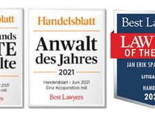 Handelsblatt/Best Lawyers ranking