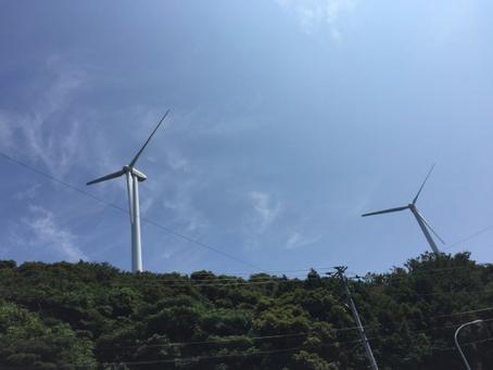 風力発電候補地現地調査