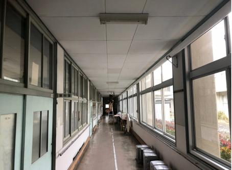愛媛県立 --支援学校様 LED化工事