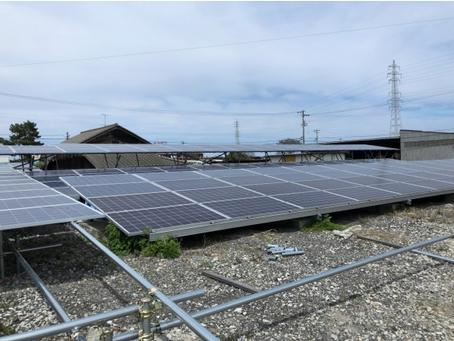 愛媛県 西条市 株式会社C様発電所 パネル増設