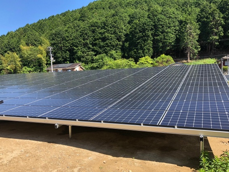宇和町 株式会社E様発電所 竣工