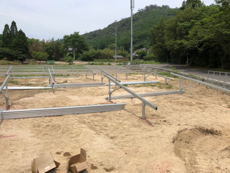 愛媛県 越智郡 合同会社K様 発電所 完工