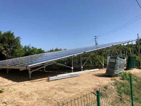 愛媛県 越智郡株式会社CR様 低圧発電所 竣工