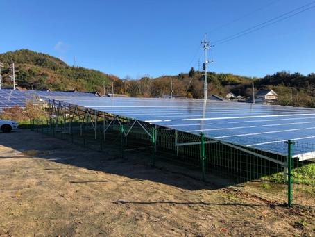 愛媛県 越智郡 T様低圧発電所 完工
