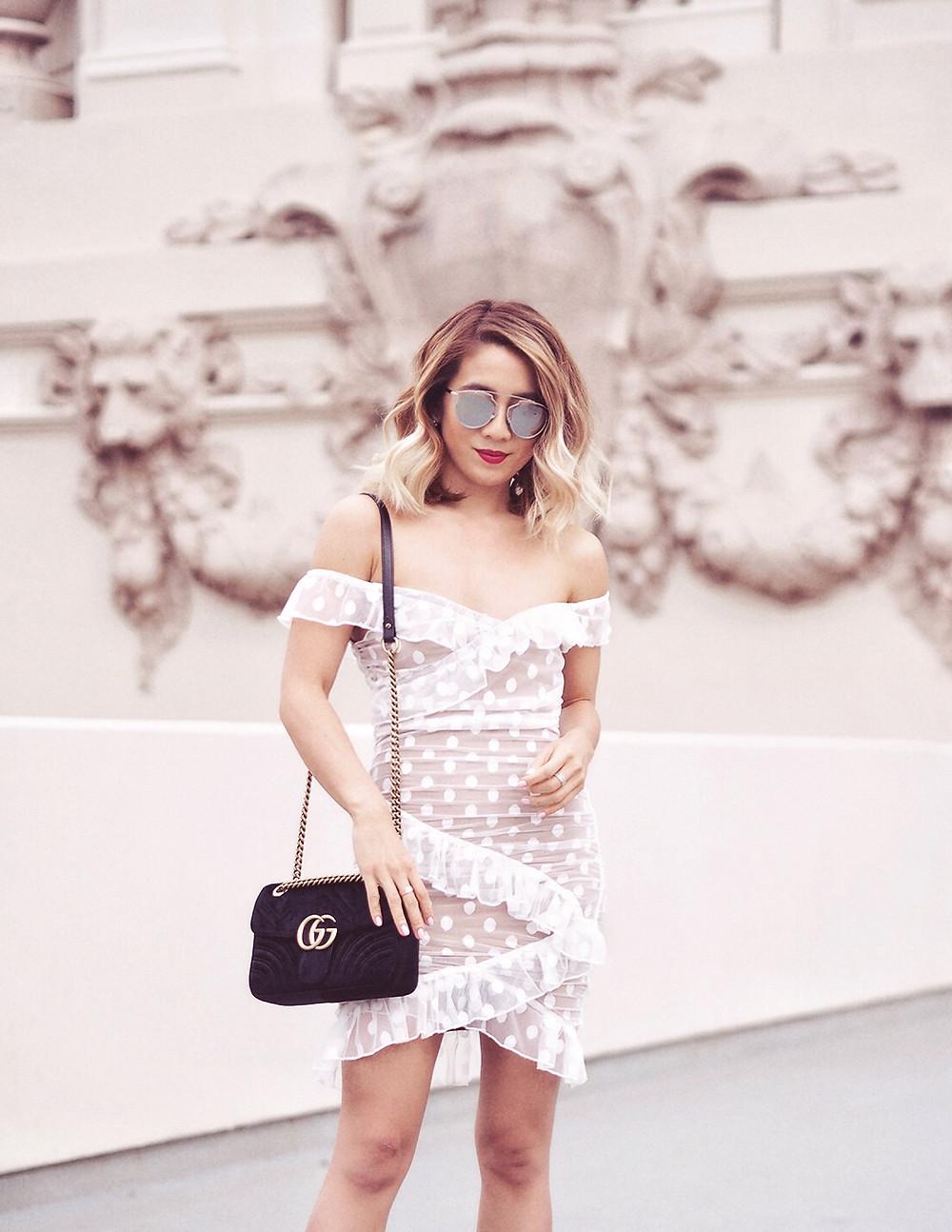 Majorelle Bandit Dress | Lam in Louboutins