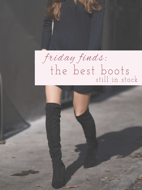 Friday Finds: The Best Boots from the Shopbop Sale