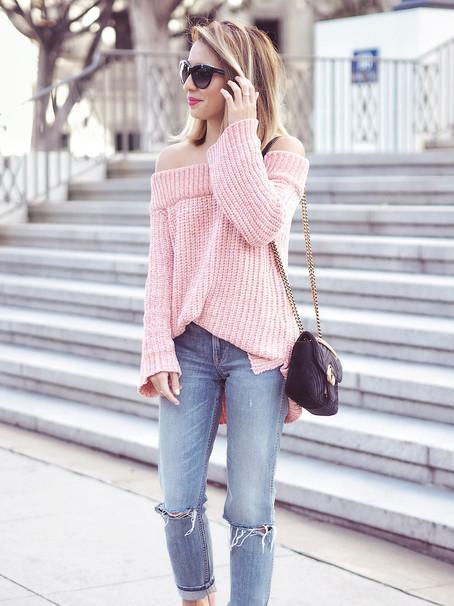 The Softest Off Shoulder Sweater Ever