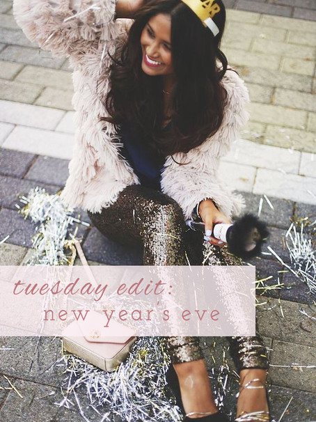 Tuesday Edit: Dazzling NYE Outfits