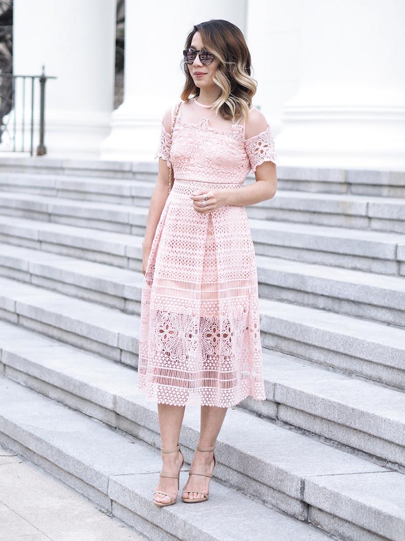 ASOS Spring Dress | Lam in Louboutins