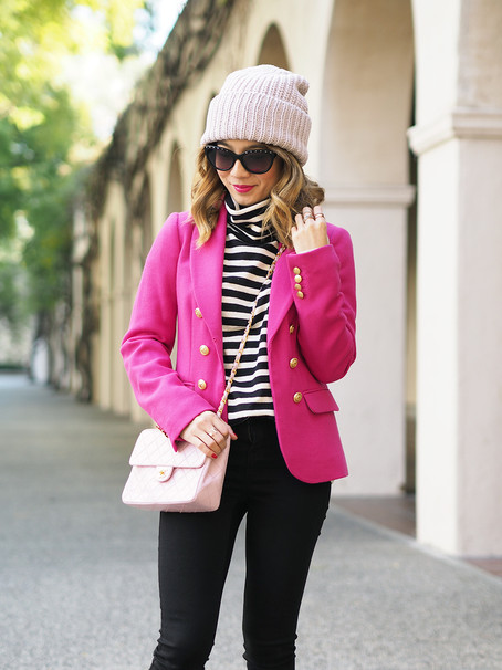 Pink and Stripes