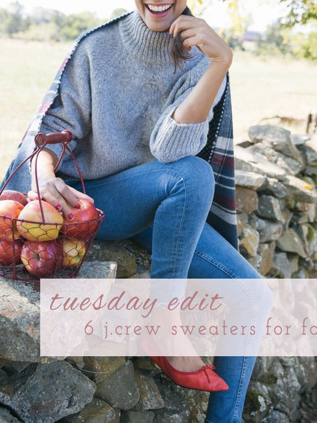 Sale Alert: 6 J.Crew Sweaters for Fall