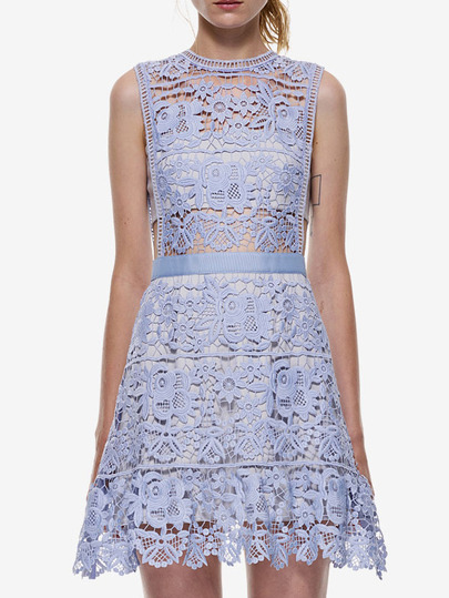 Lace Cutout Dress