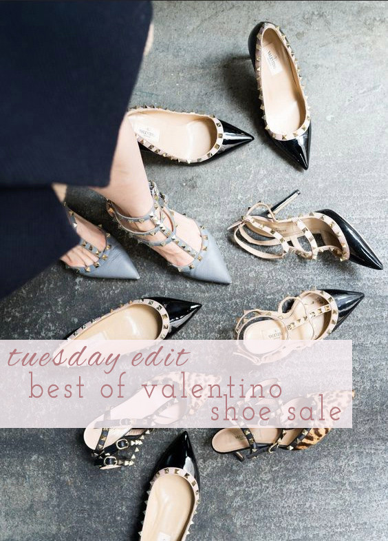 Top 5 Valentino Shoes On Sale | Lam in Louboutins