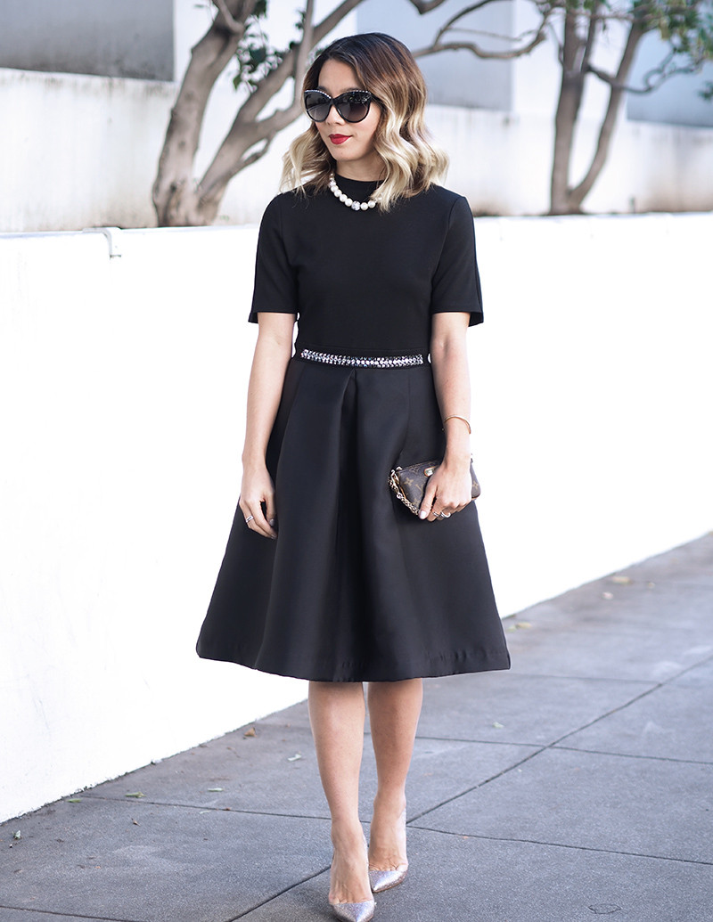 StyleWe Little Black Dress | Lam in Louboutins