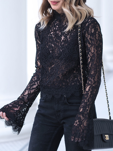 Lace Bell Sleeve + Everly Shop Rings Promo