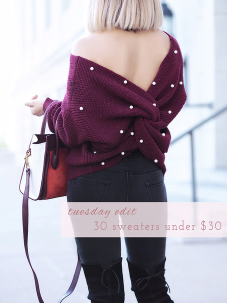30 Sweaters Under $30