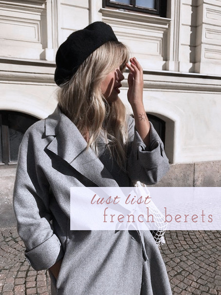 6 French Berets to Take You into Fall