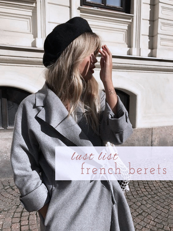 6 French Berets to Take You into Fall | Lam in Louboutins
