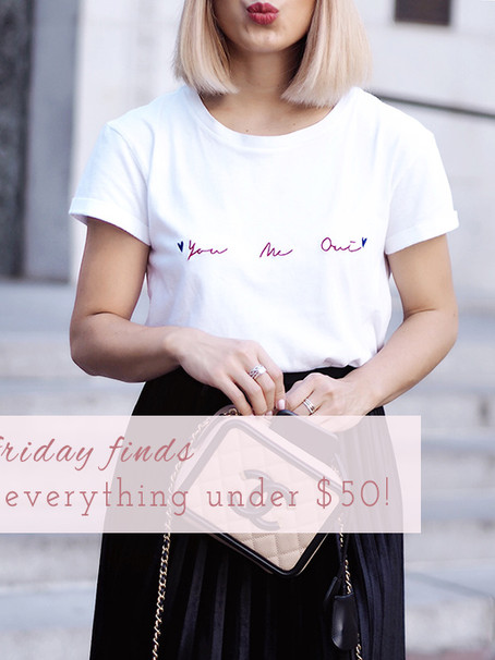 Fall Friday Finds Under $50 + Extra 20% Off!