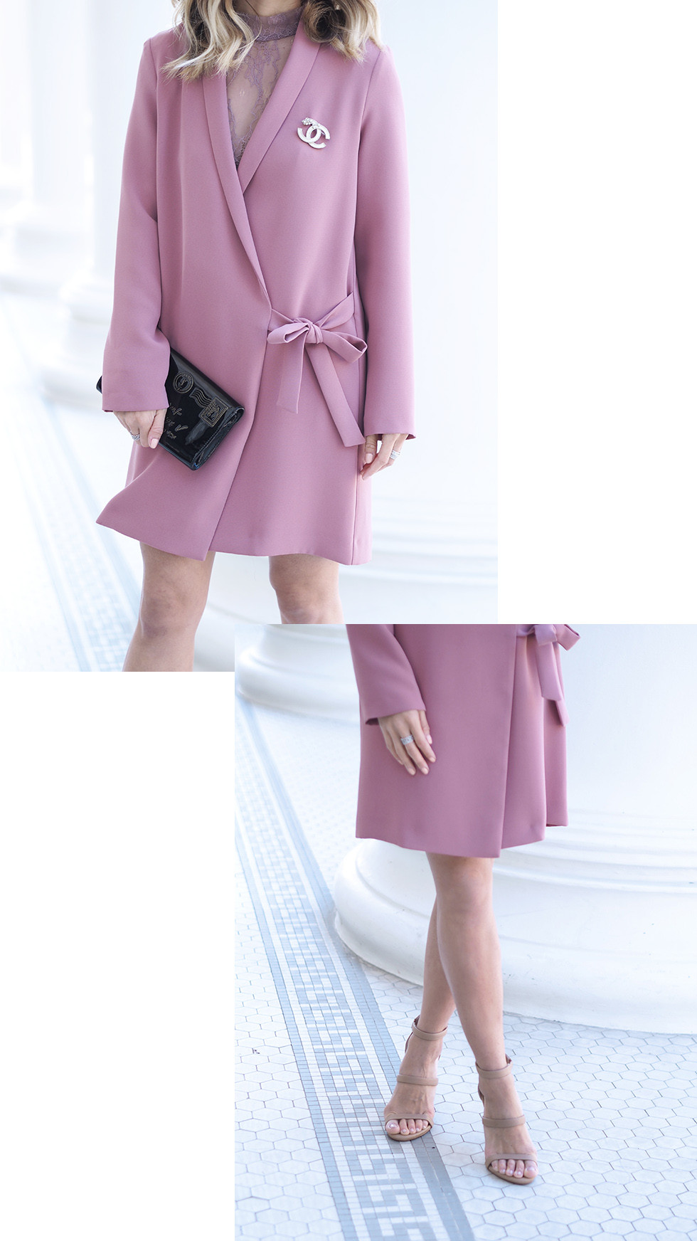 Structured Blazer | Lam in Louboutins
