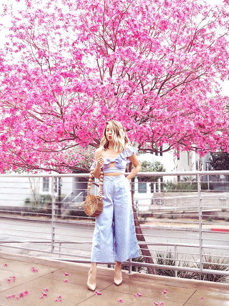 Spring Blossom Two-Piece Set